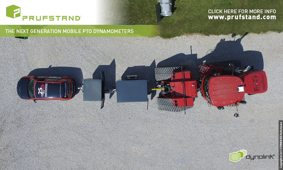 PRUFSTAND PTO Dynamometer 2017