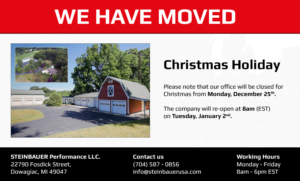 Our North American office has moved!